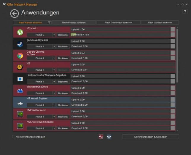 Qualcomm Atheros Killer Network Manager