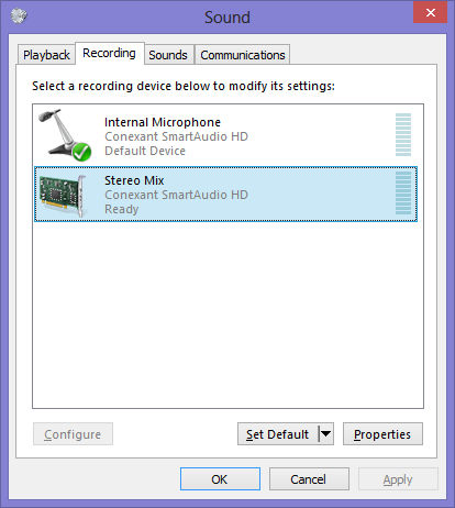 conexant high definition audio filter agent startup windows 10