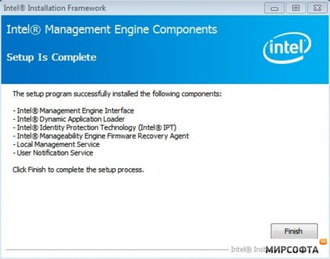 intel r manageability engine firmware recovery agent что это