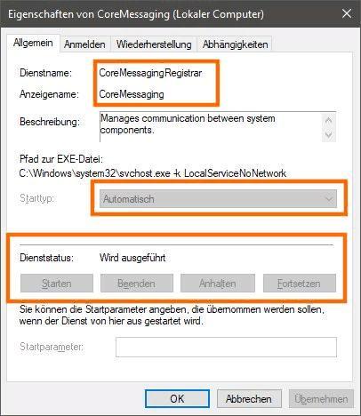 messaging windows 10 что это